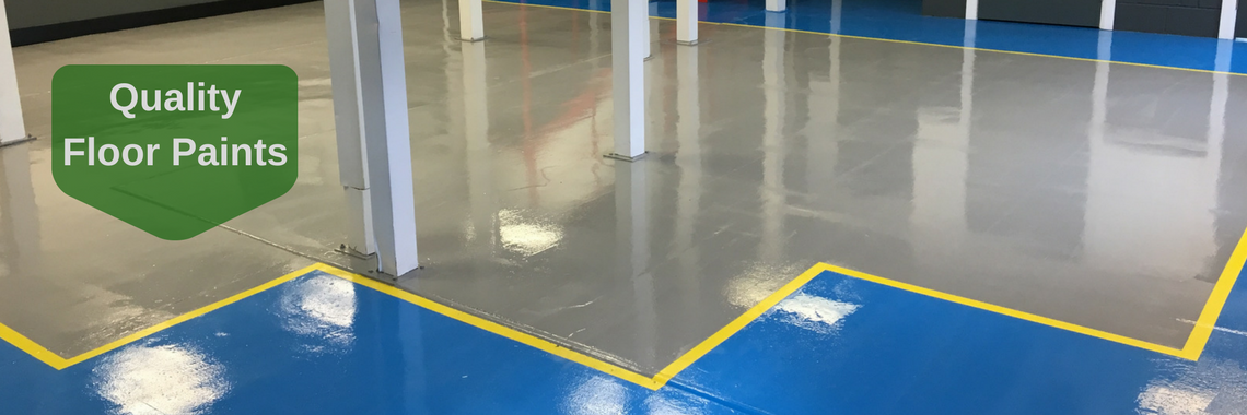 Epoxy resin floor paint