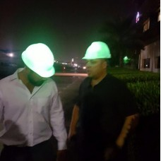 Glow in the dark Hard Hat
