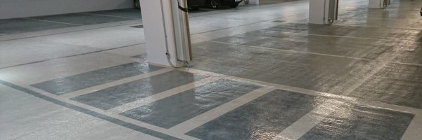 Painting floors in difficult situations