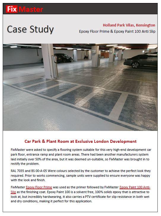 Case Study Epoxy Paint 100 Anti Slip | FixMaster